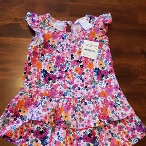 NWT Infant girl flower dress